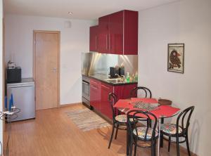 Küche/Küchenzeile in der Unterkunft Chez Pio