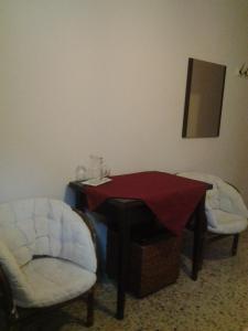A seating area at Apartment City Center Taormina