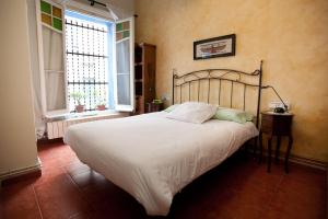 A bed or beds in a room at Holiday home La casa azul