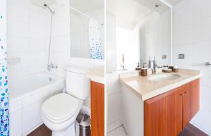 Un baño de Livinnest Apartments en Manquehue