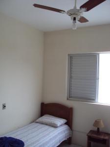 Cama o camas de una habitación en Residencial João Brollo