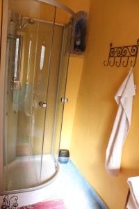 Kúpeľňa v ubytovaní Apartman na Zlatom Dvore
