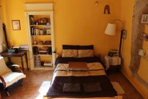 Posteľ alebo postele v izbe v ubytovaní Apartman na Zlatom Dvore