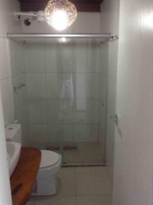 A bathroom at Flat Casagrande