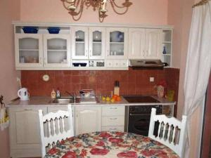 A kitchen or kitchenette at Varna Flat Apartment