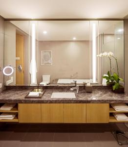 A bathroom at Fraser Residence Kuala Lumpur