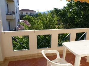 A balcony or terrace at HotelApart Filoxenia