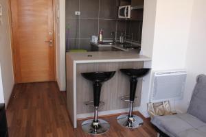 Una cocina o zona de cocina en Acero Apartments
