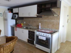 A kitchen or kitchenette at Holiday Home Peninsula Salto