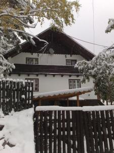 Drevenica Spanka v zimě