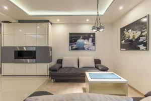 A seating area at Apartament President Zakopane