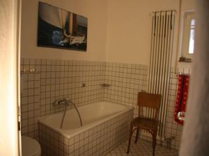 Ein Badezimmer in der Unterkunft Ferienwohnung Schneiter