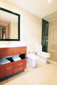 Ванная комната в Apartamentos Indasol