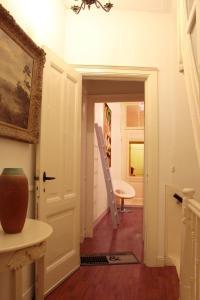 A bathroom at La Loggia