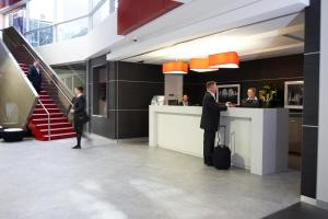 The lobby or reception area at Quest Bondi Junction