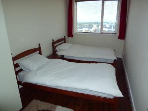 A bed or beds in a room at Mayeston Rise