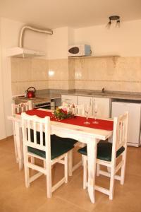 Una cocina o kitchenette en Departamento Espejo