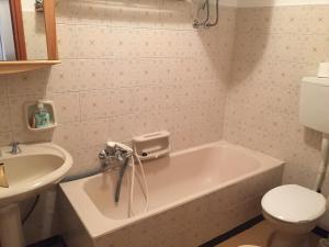 Um banheiro em Appartamento Edelwais