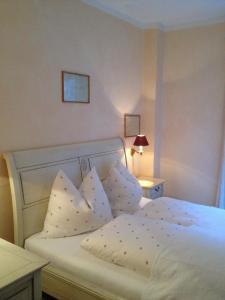 Ein Bett oder Betten in einem Zimmer der Unterkunft Villa Rauter Mayrhofen
