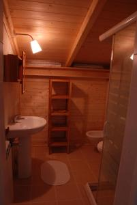 Um banheiro em Da Irene