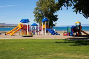 Children's play area at Multi Resorts at Bear Lake