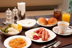 Breakfast options available to guests at Citadines Central Shinjuku Tokyo