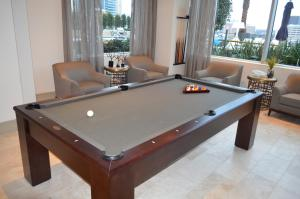 A pool table at Hanover Post Oak