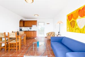 A kitchen or kitchenette at Residencial Las Norias