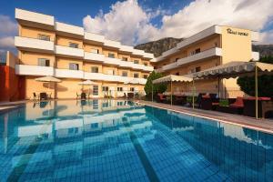 The swimming pool at or near Hotel Fotini