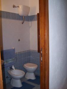 A bathroom at Casa Mandriola
