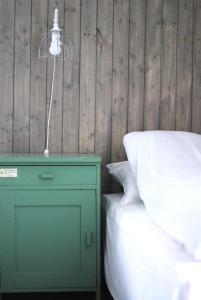 A bathroom at Patina Evanger