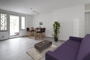 Zona de estar de Apartment Hannover Top Citylage