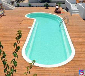 A view of the pool at Soultana Rooms & Studios or nearby