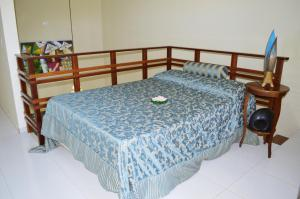 A bed or beds in a room at Flat San Jorge