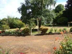 A garden outside Tahara Cottage