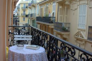 Balcon ou terrasse dans l'établissement Monte Carlo Center