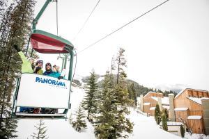 Panorama Mountain Resort - Ski Tip / Tamarack Condos during the winter
