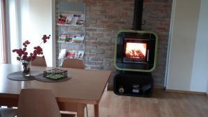TV/Unterhaltungsangebot in der Unterkunft Ferienhaus Moritz