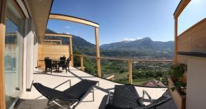 Nespecifikovaný výhled na hory nebo výhled na hory při pohledu z aparthotel