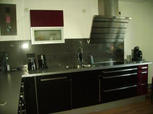 Küche/Küchenzeile in der Unterkunft Ambiente