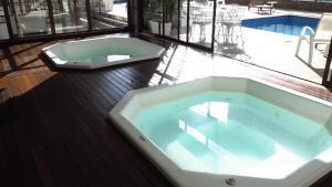 The swimming pool at or near Costa Sul Beach Hotel