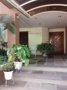 The lobby or reception area at Apartamento mobiliado Higienópolis