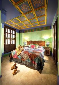 Cama o camas de una habitación en Casa Palacete 1822