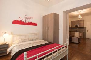 A bed or beds in a room at Apartment Sehara