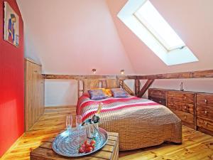 Łóżko lub łóżka w pokoju w obiekcie Sopot Apartment SA