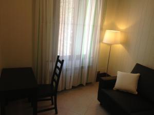 אזור ישיבה ב-Appartamento Corte Zappa