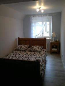 Un ou plusieurs lits dans un hébergement de l'établissement Gîte Clos la Cerisaie