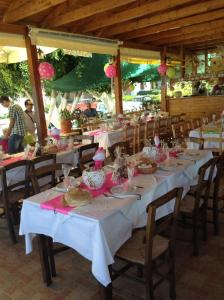 A restaurant or other place to eat at Villa Thalia