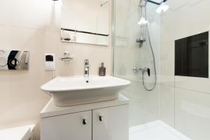 A bathroom at Saint Thomas Apartment