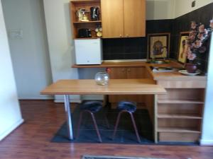 Una cocina o zona de cocina en Kuizi Apartamento Santiago Centro